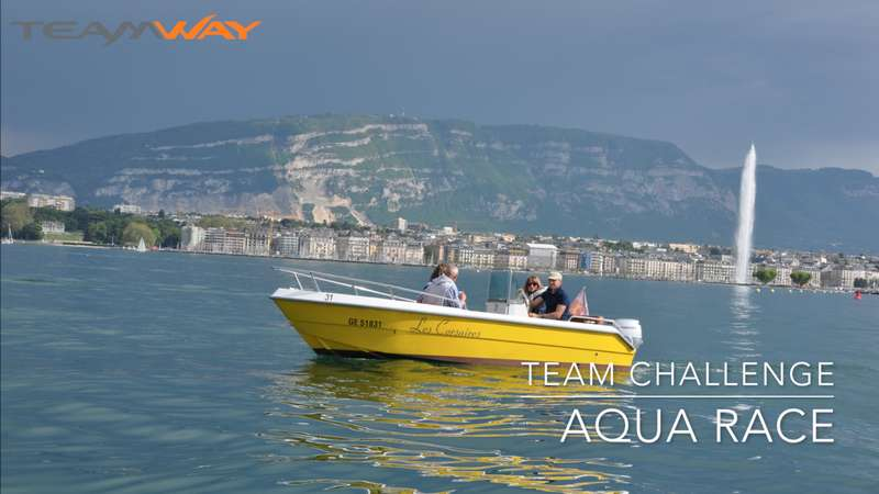 team challenge : aqua-race - Teamway