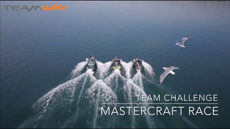 team challenge : mastercraft race - Teamway