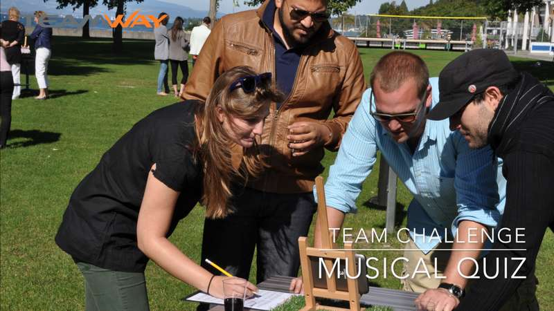 team challenge : musical quiz - Teamway