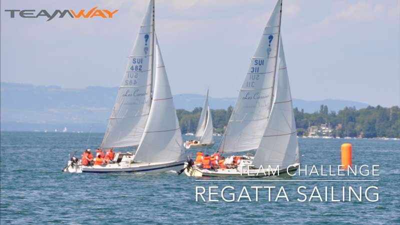 team challenge : regatta sailing- Teamway