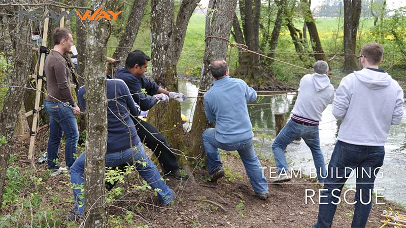 team building - Teamway