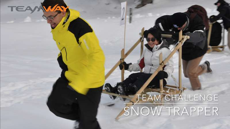 team challenge : snow trapper - Teamway
