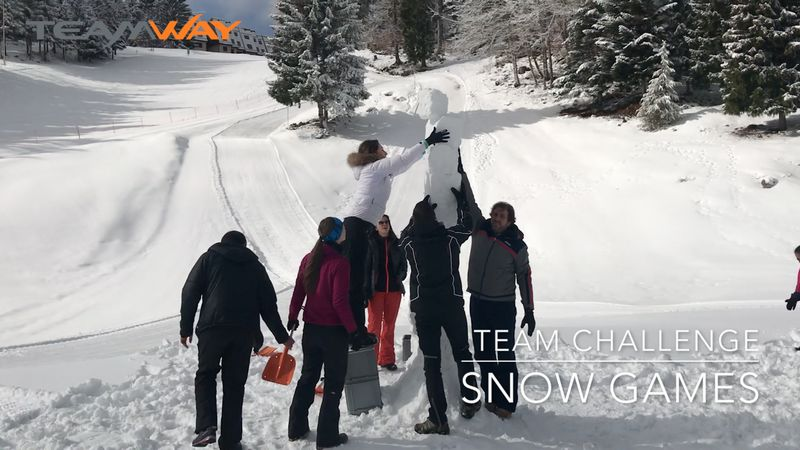 team challenge : snow games - Teamway